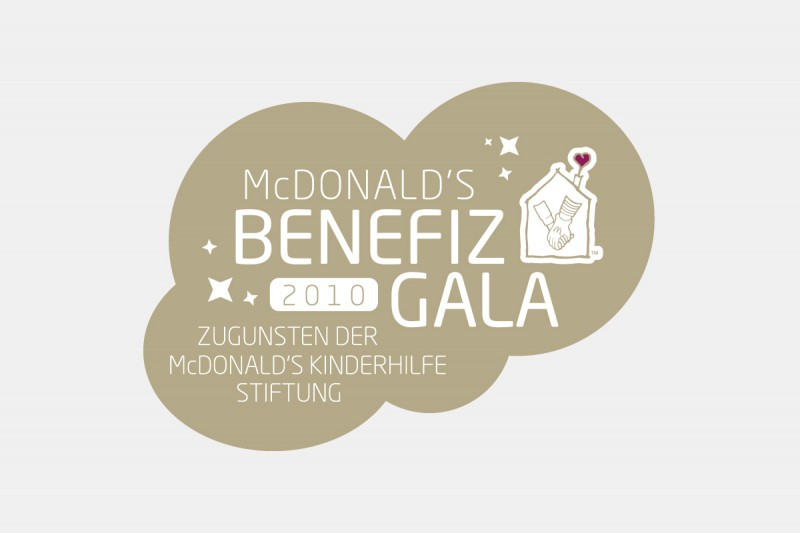 zugunsten der mcdonald Kinderfhilfe Stiftung